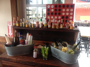social tap bloody mary bar